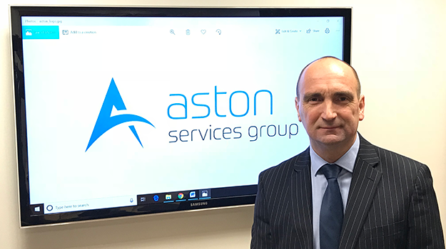 Aston Services Group appoints MD