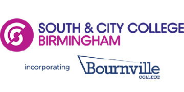 South and City College Birmingham logo